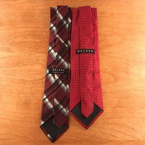 Lot of 2 Axcess Shelf-Pull Ties